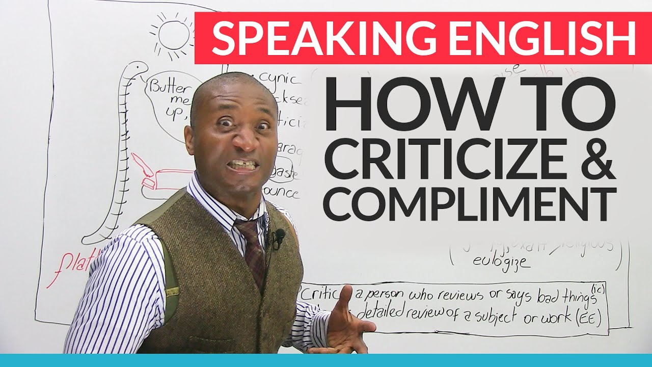 How to learn to criticize, so as not to offend 48