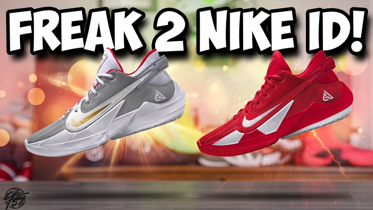 Designing the Nike Zoom Freak 2 on NIKEID!