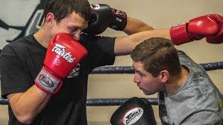 Финты в боксе /Ложные действия боксера для нанесения сильного удара