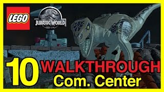 LEGO Jurassic World Walkthrough Gameplay Part 10 - Communications Center (No Commentary)