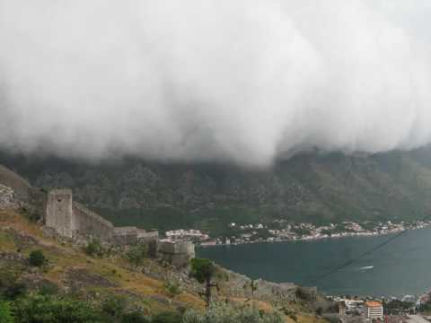 Extreme Weather View in Kotor