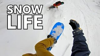 Day In The Life Of Snowboarding Japan