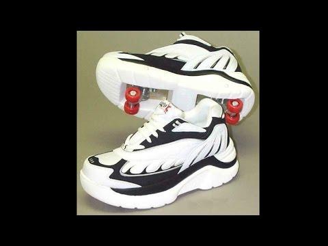 Кроссовки на колесиках: обзор. Урок 26