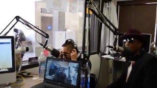 "Rock-G & DJ KonQuest performing ""We Made It"" Live on KWDC 93.5 FM the Big Blaze Show"