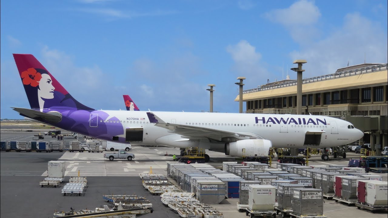 Hawaiian Airlines A330 First Cl