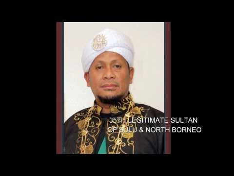 Sulu Sultan Muedzul Lail Tan Kiram. The 35th Sultan of Sulu and North Borneo ( Sabah )