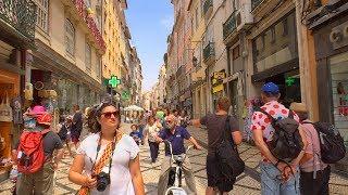 Coimbra, Portugal - Summer Walk Tour in STUNNING Historic Riverfront City thumbnail