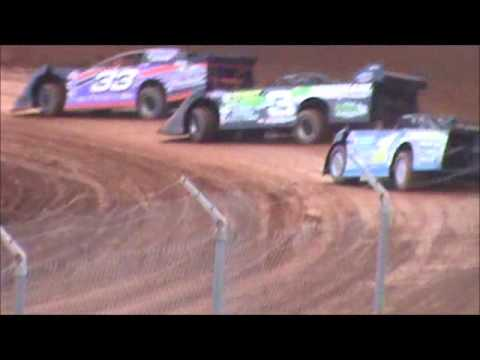 Late Model Heat 3 Langlade County Speedway 10/20/12