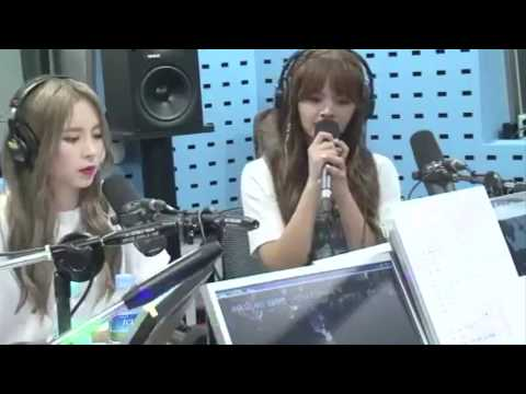 CLC Sorn- 오늘 취하면 (WINE/If I get drunk today) (SURAN cover) @ 170817 SBS Youngstreet Radio