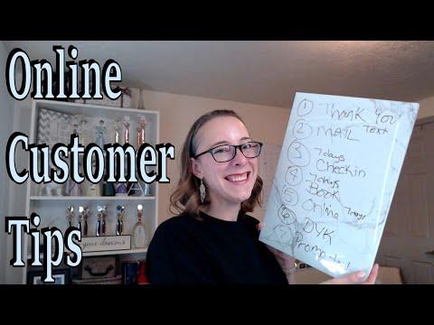 Online Customer Tips