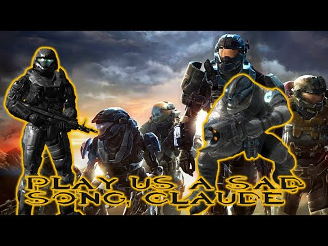 """""""PLAY US A SAD SONG, CLAUDE"""" DJ BRUTE EASTER EGG! - HALO REACH!"""