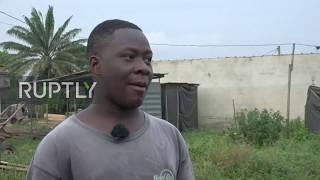 Ivorian Dancing Acrobats Perform Heart-skipping Stunts In Abidjan
