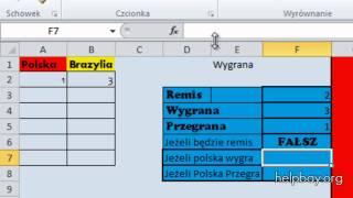 Office 2010 Exel - Funkcja jeżeli PODSTAWA