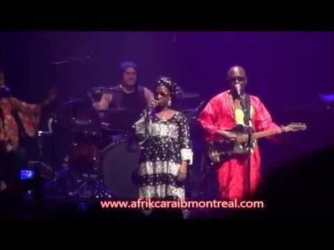Amadou et Mariam live à Montréal, festival Nuits d'Afrique 2017