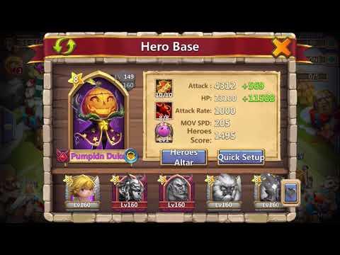 Castle Clash HBM T TH12 Close Victory!!!