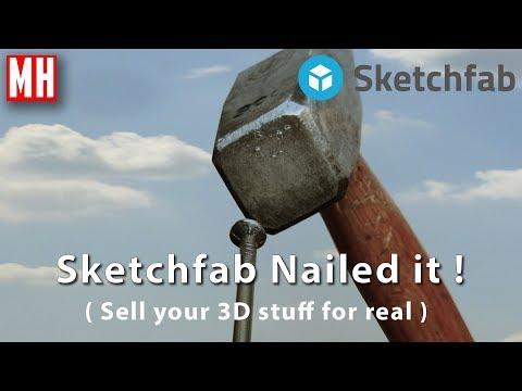 Sketchfab nailed it ! Making money as a 3D Artist