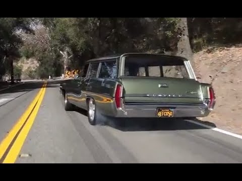 Big Burnouts: 1964 Pontiac Catalina Safari - /BIG MUSCLE
