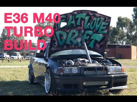 Turbocharging our M40 E36 BMW!