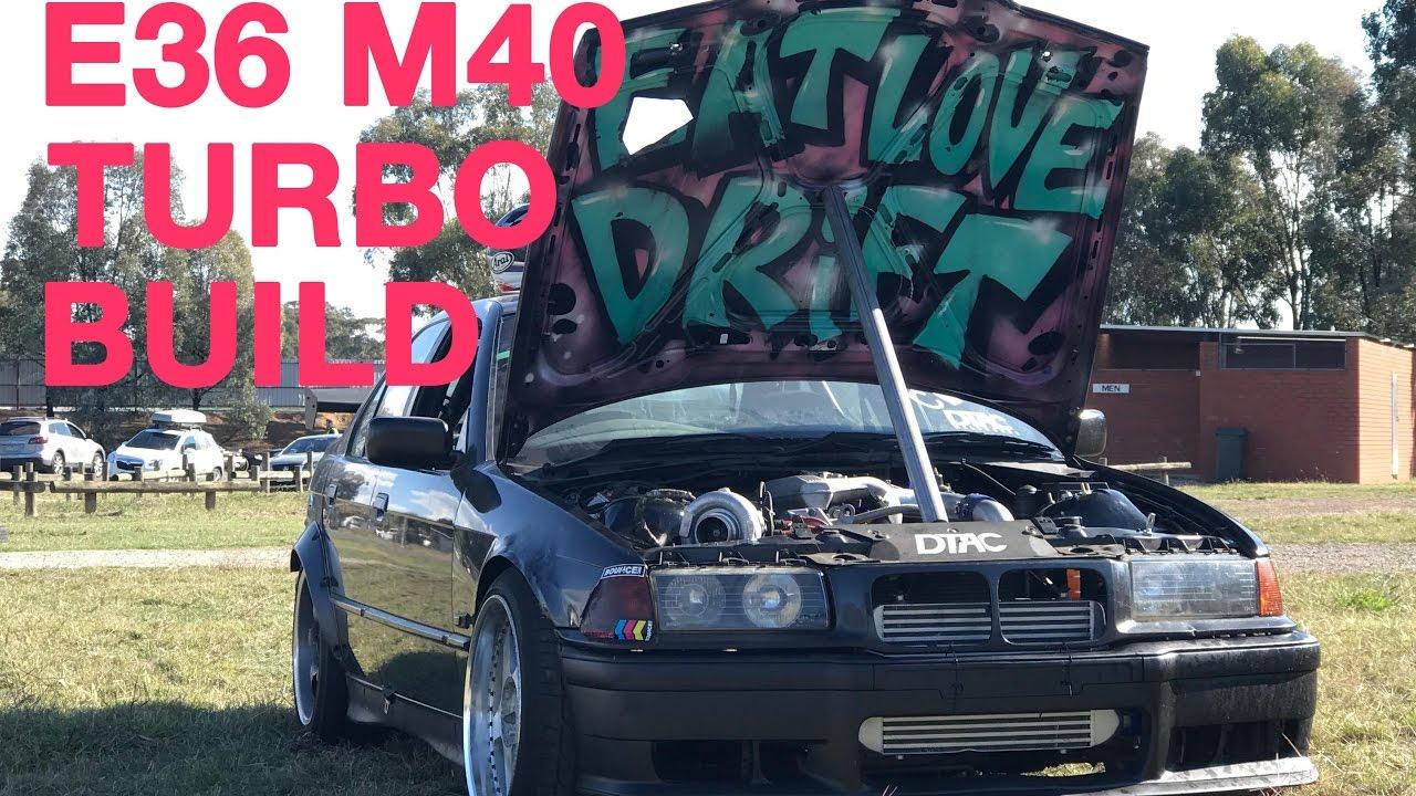 Turbocharging Our M40 E36 Bmw