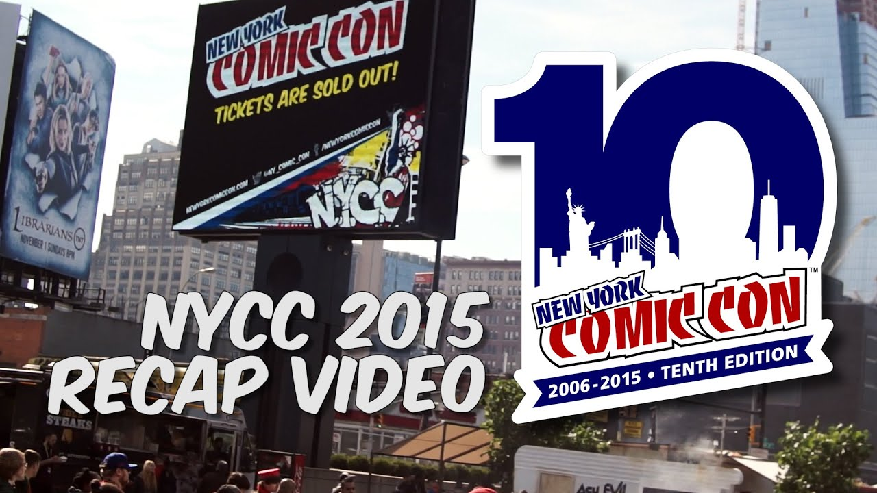 New York Comic Con 2015 Recap