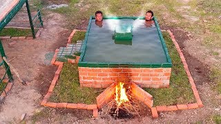 Build Warm Water Swimming pool for Winter.