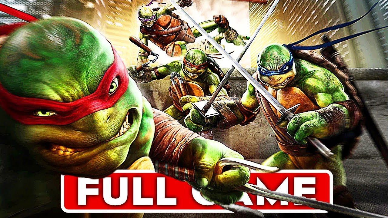 TEENAGE MUTANT NINJA TURTLES OUT OF THE SHADOWS Gameplay Walkthrough Part 1 FULL GAME No Commentary