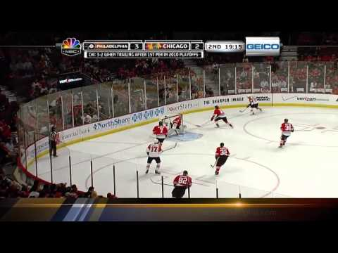 Stanley Cup Finals. Flyers vs Blackhawks (Game 1, 29 may 2010)