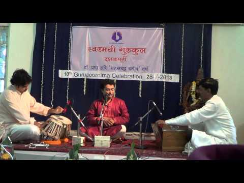 Atindra Sarvadikar Raga Desi from Swarmayee Gurukul Pune
