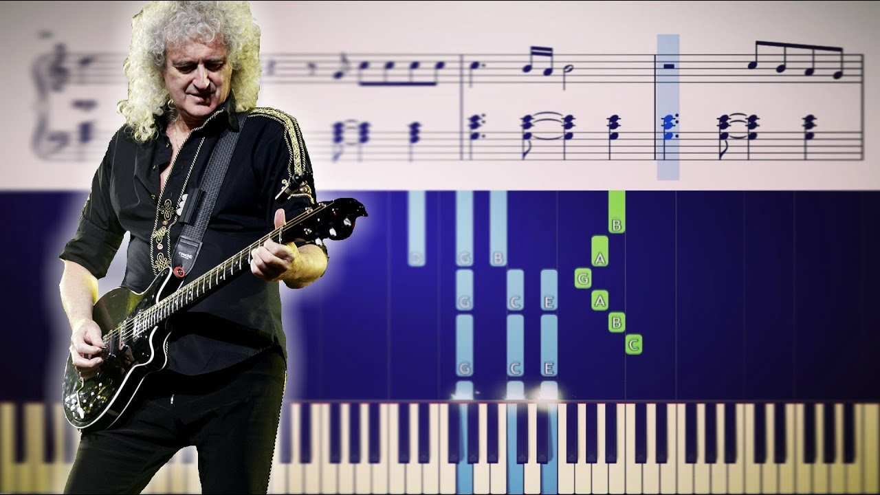 Queen The Prophet S Song Piano Tutorial Youtube