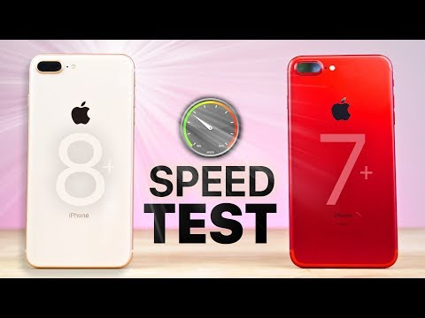 iPhone 8 Plus vs 7 Plus SPEED Test!
