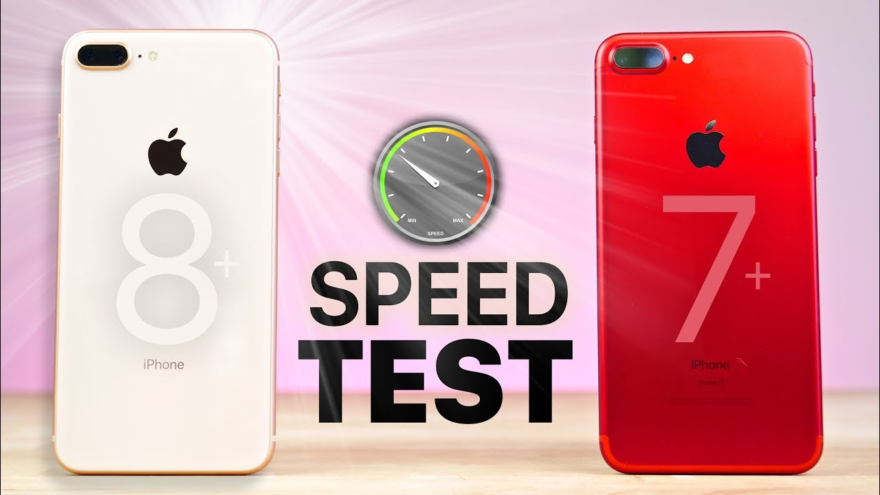 IPhone 8 Plus Vs 7 SPEED Test
