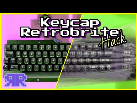 Retrobright Keys Without The Hassle? - Commodore 64/Atari