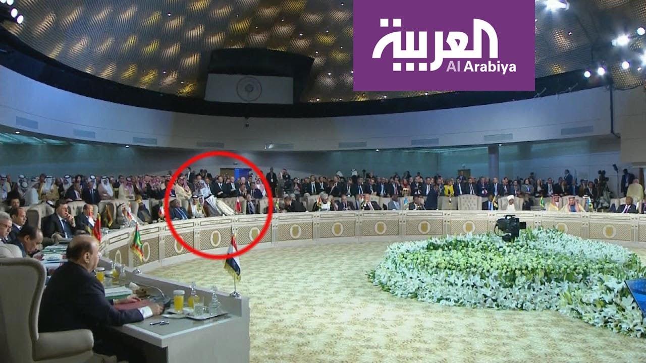 لماذا غادر أمير قطر القمة العربية بشكل مفاجئ؟