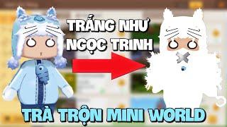 Meowpeo cải trang Trắng Như Ngọc Trinh trà trộn sảnh liên thông và cái kết trong Mini World