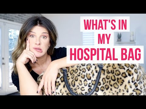 WHAT'S IN MY HOSPITAL BAG?!