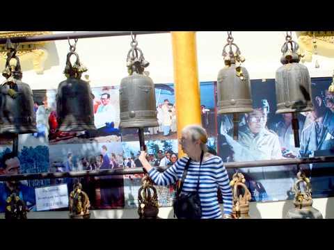 We visit Wat Phra That Doi Suthep near Chiang Mai in Thailand. Part 5