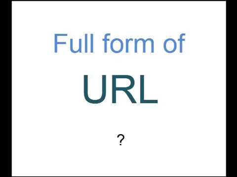 Full form of URL is ? - YouTube