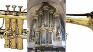 Mijn Gebed - Drie trompetten en kerkorgel  - St  Joriskerk Amersfoort
