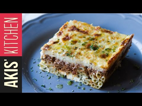 Pastitsio (Greek Baked Pasta) | Akis Kitchen