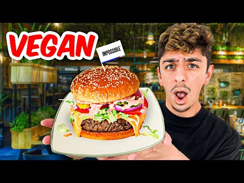I Ate ONLY Vegan Food for 24 Hours – Impossible Food Challenge