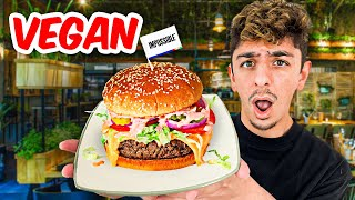 I Ate ONLY Vegan Food for 24 Hours Impossible Food Challenge