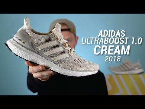 Adidas Ultra Boost 1.0 Cream 2018 Restock Review & On Feet