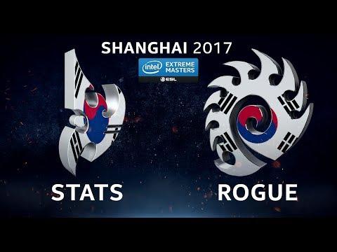 StarCraft II - Stats vs. Rogue [PvZ] - Group B - IEM Shanghai 2017