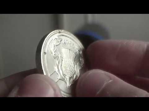Commonwealth games Scotland 1986 £2 coin