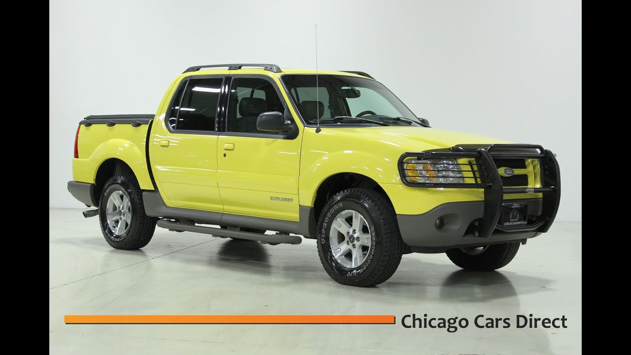 chicago cars direct presents this 2002 ford explorer sport trac