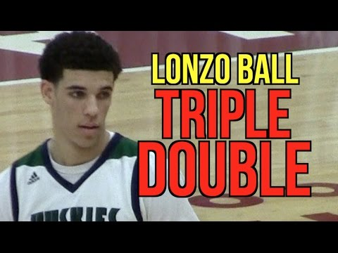 Lonzo Ball TRIPLE DOUBLE in HIGH SCHOOL‼️Chino Hills vs Bam Adebayo | Ball Brothers