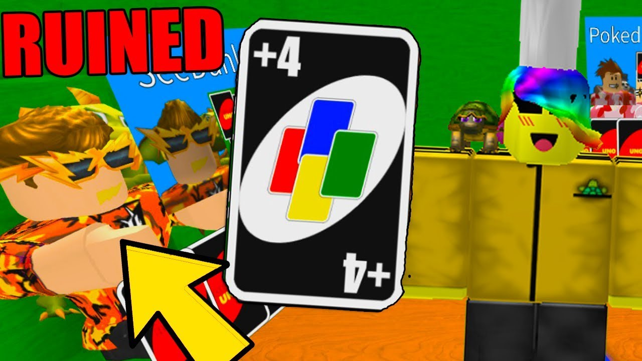This Game Ruins Our Friendship Roblox Uno Youtube