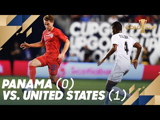 Panama (0) vs. United States (1)  - Gold Cup 2019
