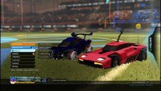 Voetballen met auto's | Rocket League #1