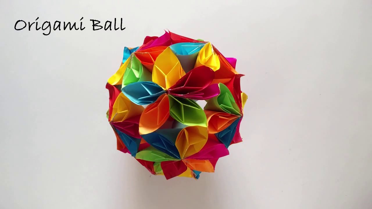 Step-By-Step Kusudama Flower Ball | 720x1280